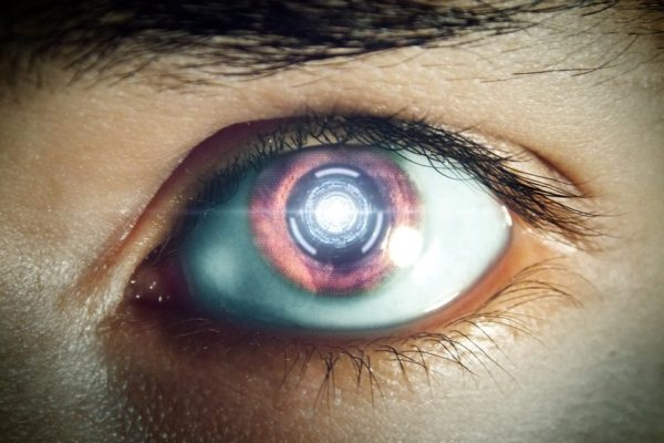 Eye Robot Eye Machine Future Futuristic