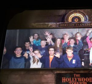 Here I am pictured worshipping The Tower Of Terror