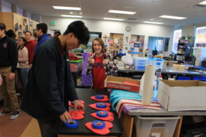 Maile exciting watches as student council takes hearts to set up